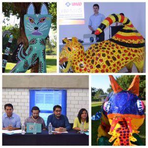 Presentaci?n de Alebrijes monumentales en el marco de la Expo creatividad 2017