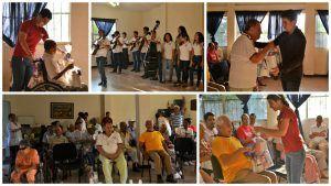 Programa de Apoyo Comunitario: 10 a?os, dejando huellas de amor.