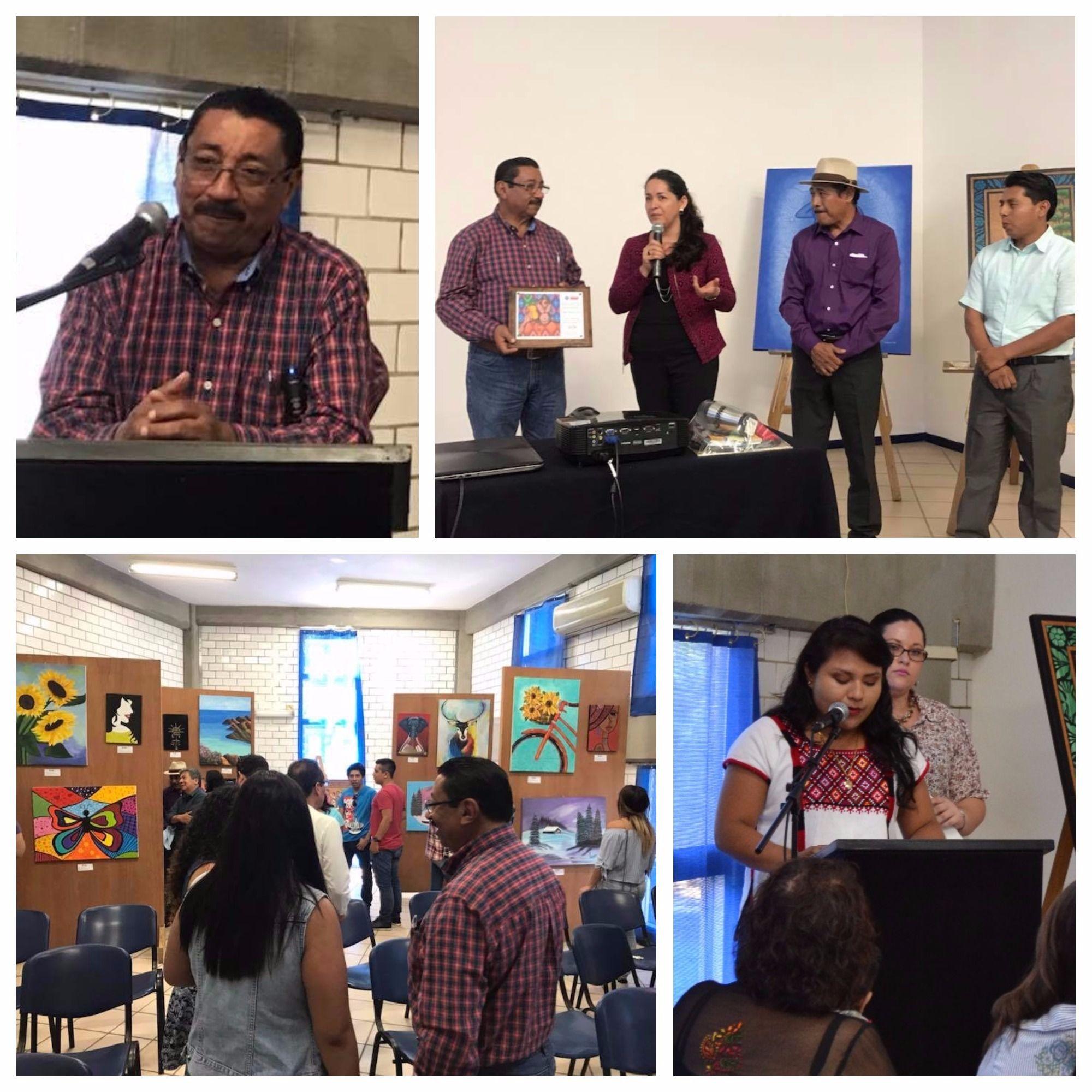 UMAD Papaloapan rinde Homenaje al pintor costumbrista Pedro Alvizar