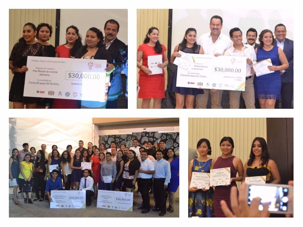 Alumnos de UMAD Papaloapan obtienen 2 Primeros lugares y varias menciones honor?ficas en los Premios a la Juventud Tuxtepecana 2017