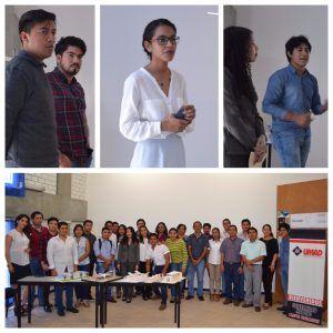 Alumnos de Arquitectura de UMAD Papaloapan desarrollan proyectos para edificar un Pabell?n de lectura en el Parque central de Tuxtepec