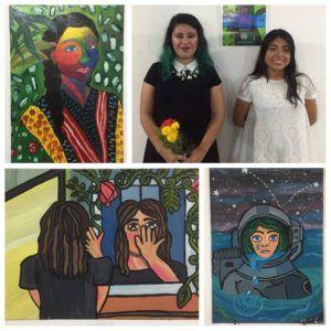 J?venes estudiantes montan exposici?n pict?rica en  Casa de la Cultura de Tuxtepec
