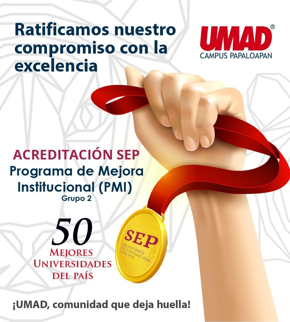 UMAD Papaloapan, de las 50 Mejores Universidades del Pa