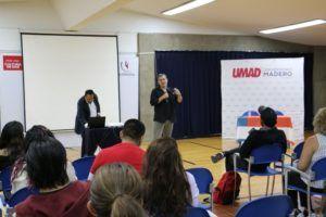 Ricardo Arnaiz, fundador de ANIMEX dio conferencia en UMAD