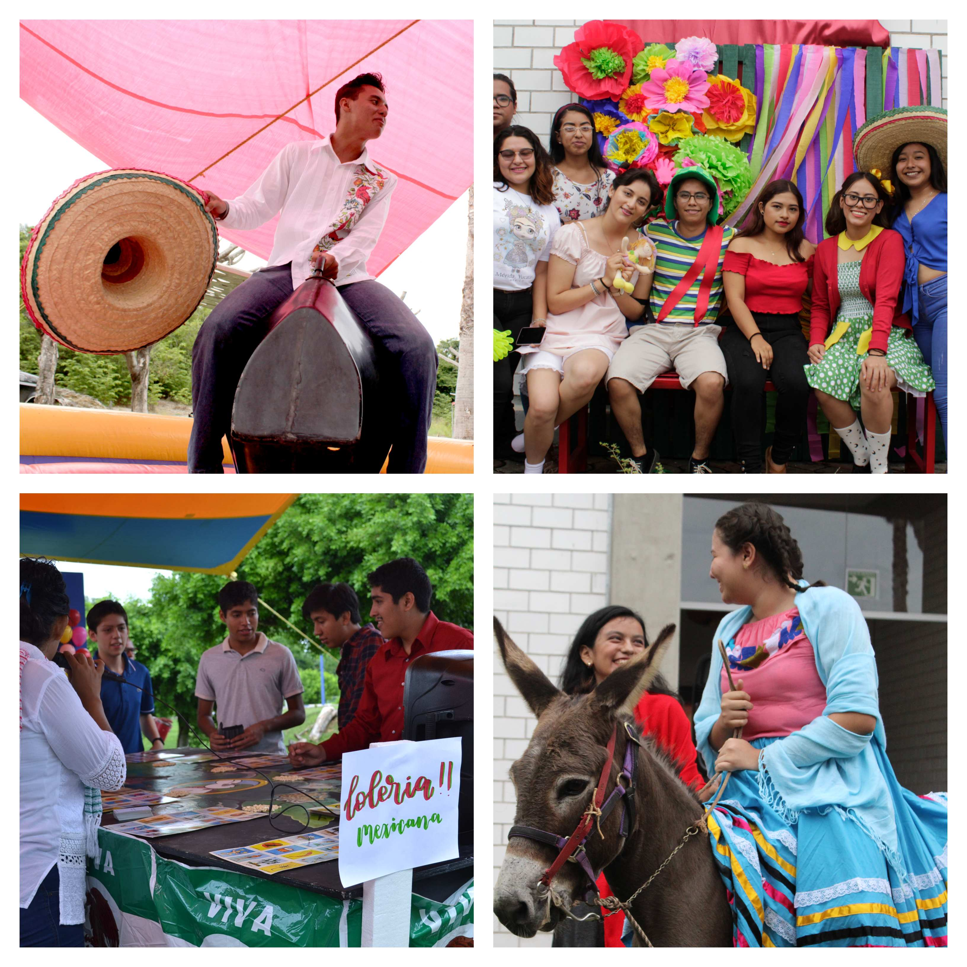 Alumnos de UMAD Papaloapan celebran su Fiesta de Bienvenida con motivos patrios