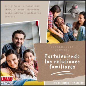 Fortaleciendo las relaciones familiares